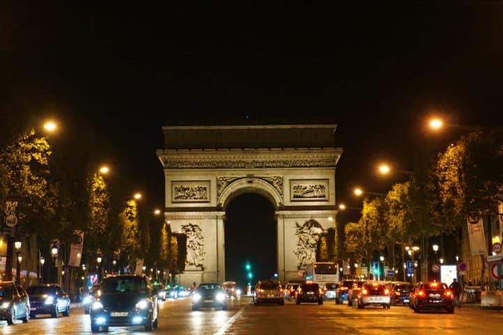 Arco del Triunfo Foto Flynn Zhou