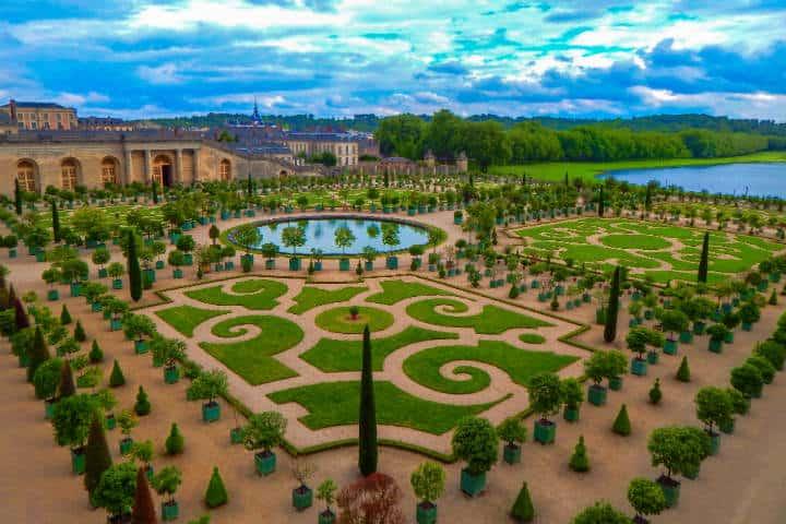 Jardín en el Palacio de Versalles Foto Clark Van Der Beken