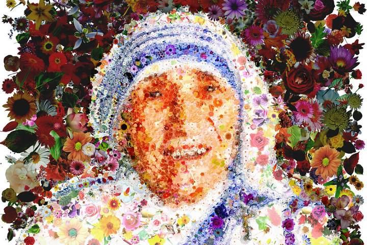 Madre Teresa de Calcúta. Imagen: Simone Genghini.