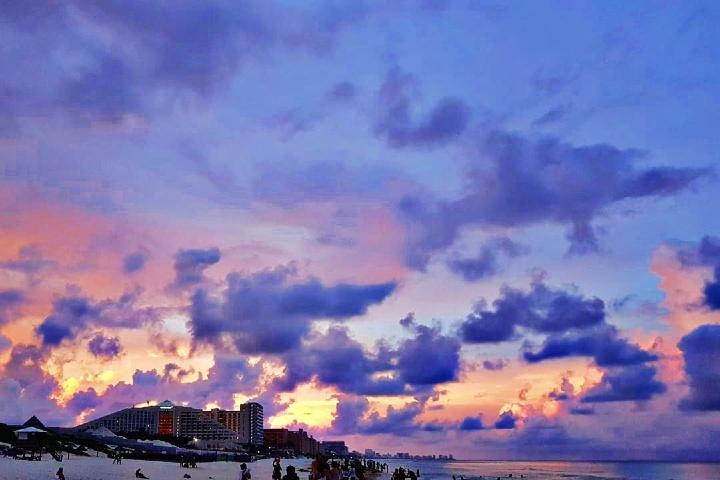 Playa Delfines, Cancún. Imagen: Damara López