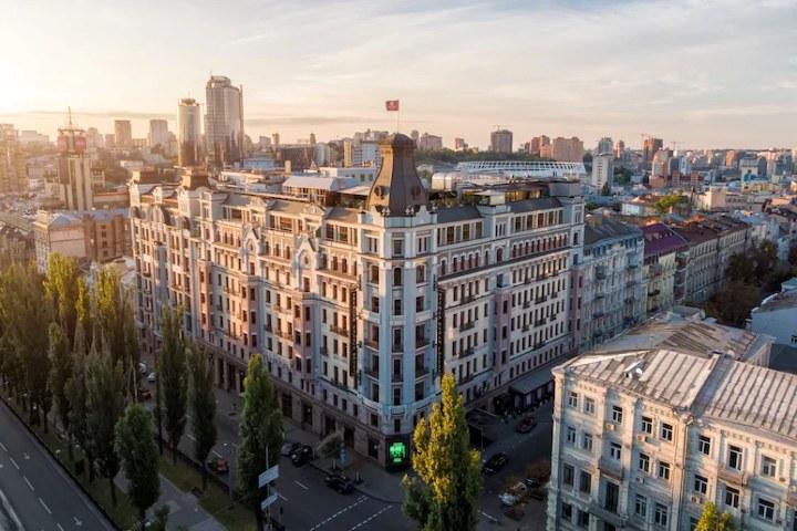 Premier Palace Hotel Kiev en Ucrania. Imagen: Hoteles.com