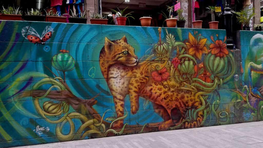 Haz visto el arte urbano de la ciudad de m xico for Arte mural en mexico