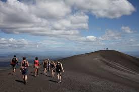 volcano boarding 10