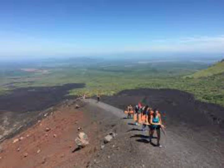 volcano boarding 2