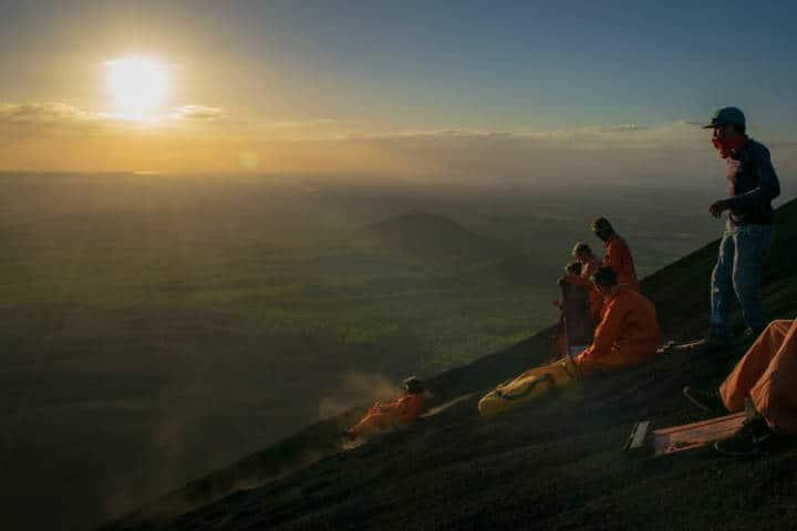 Cerro Negro.imagen Nicaragua.archivo