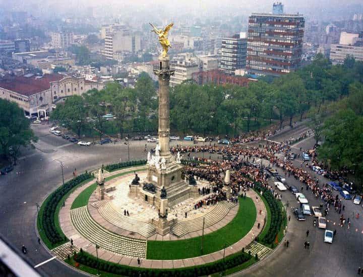 Angel de la Independencia 1962 Foto Cecil Stoughton