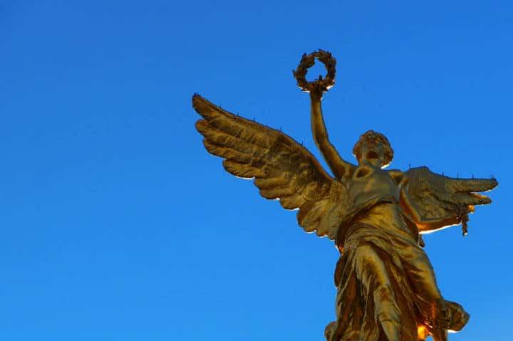 Angel de la Independencia Foto Carlos Alvarez