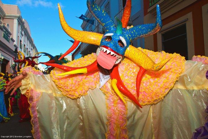 Carnavales de Puerto Rico. Imagen. Brandon Livingston 3