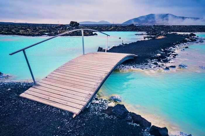 Laguna Azul, Isalndia. Imagen: Imagenes del Universo.