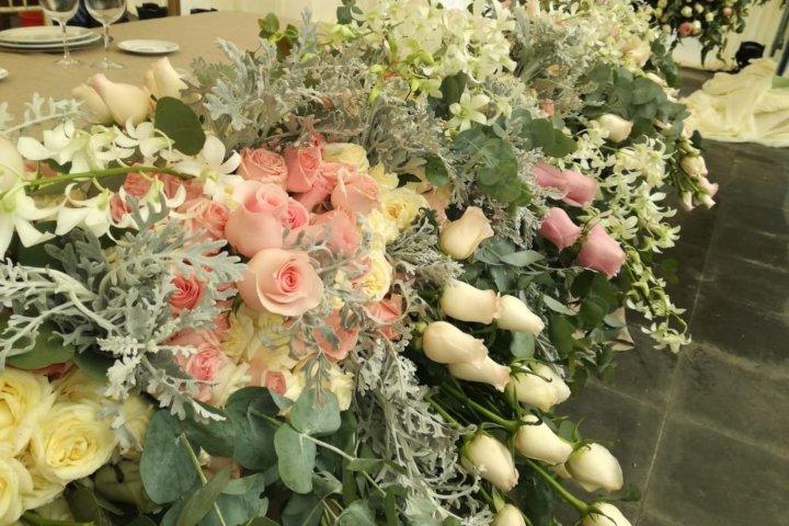 Lo mejor para impresionar a los invitados. Foto. Arreglos Florales