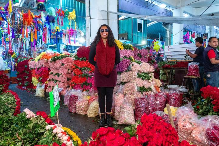 Mercado de Jamaica. Foto. Blog Sección Amarilla