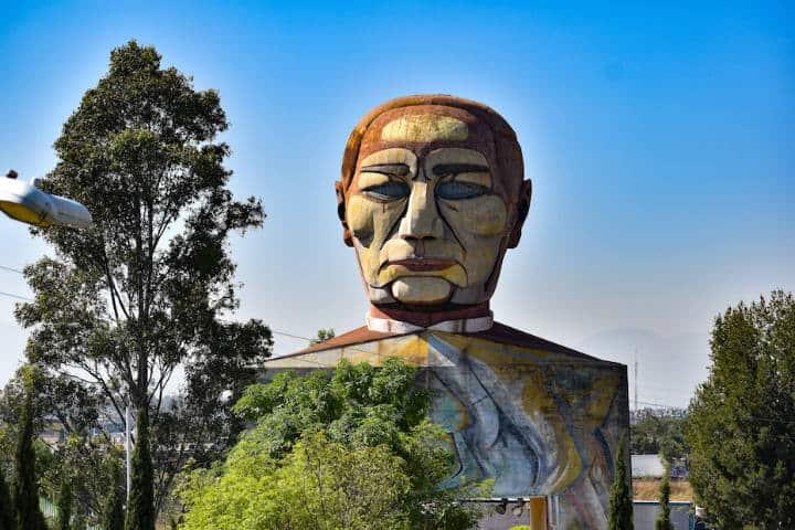 Museo dentro de la cabeza de Juárez en la CDMX.Foto.Reporte Indigo.1