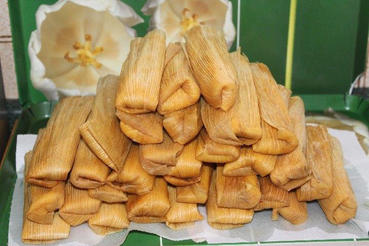 Tamales para la candelaria. Foto: martenh