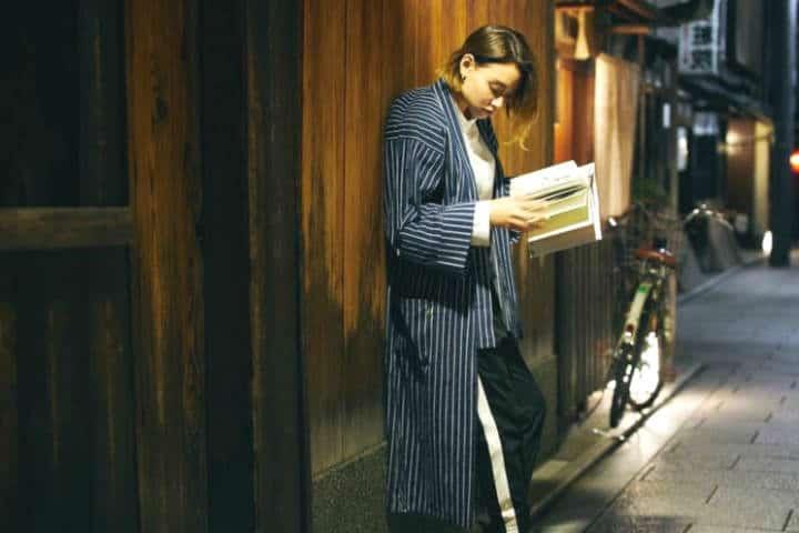 Hostal de Kyoto para amantes de los libros Foto Archivo