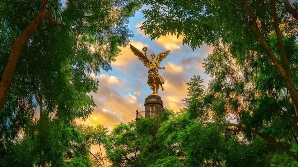 Angel de la Independencia Foto Pepe Soho y Tmo CDMX