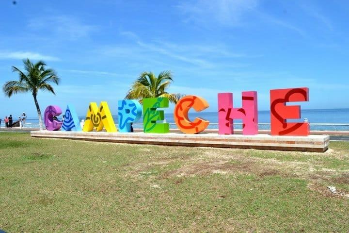 Letras monumentales, Campeche, Campeche