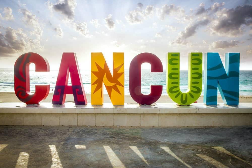 Letras monumentales, Cancún, Quintana Roo