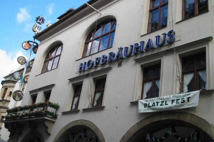 Cerveceria Hofbrauhaus en Alemania. Foto.Fotos de hot.1