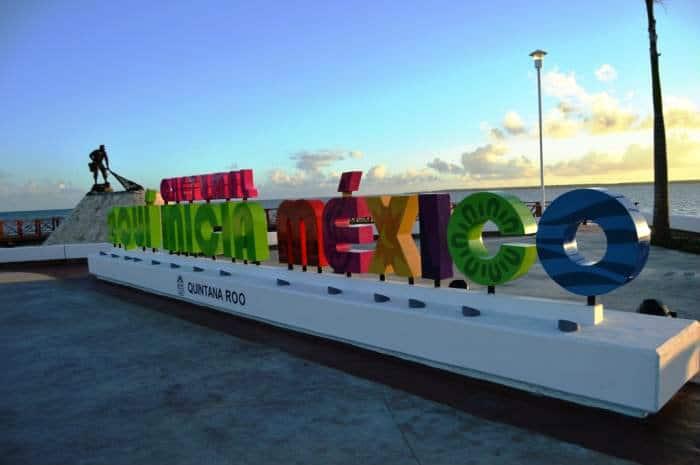 Letras monumentales, Chetumal, Quintana Roo