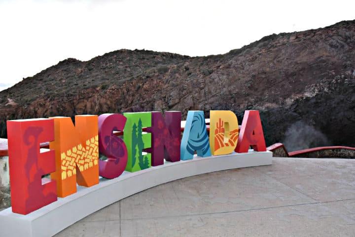 Letras monumentales, Ensenada, Baja California