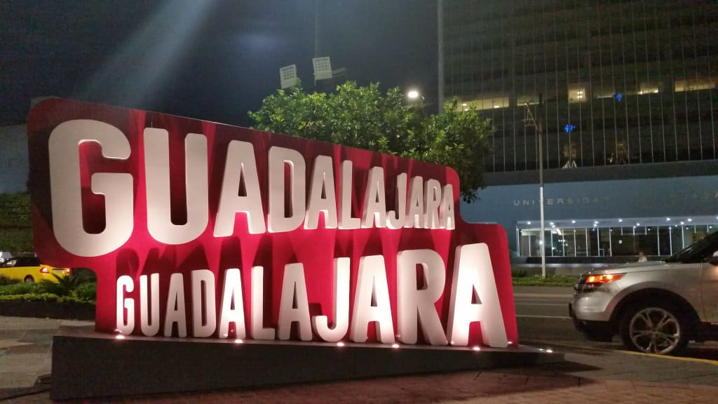 Letras monumentales, Guadalajara, Jalisco