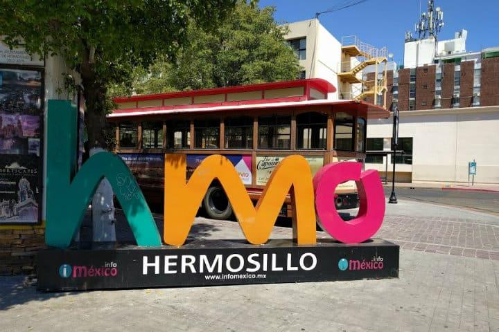 Letras monumentales, Hermosillo, Sonora