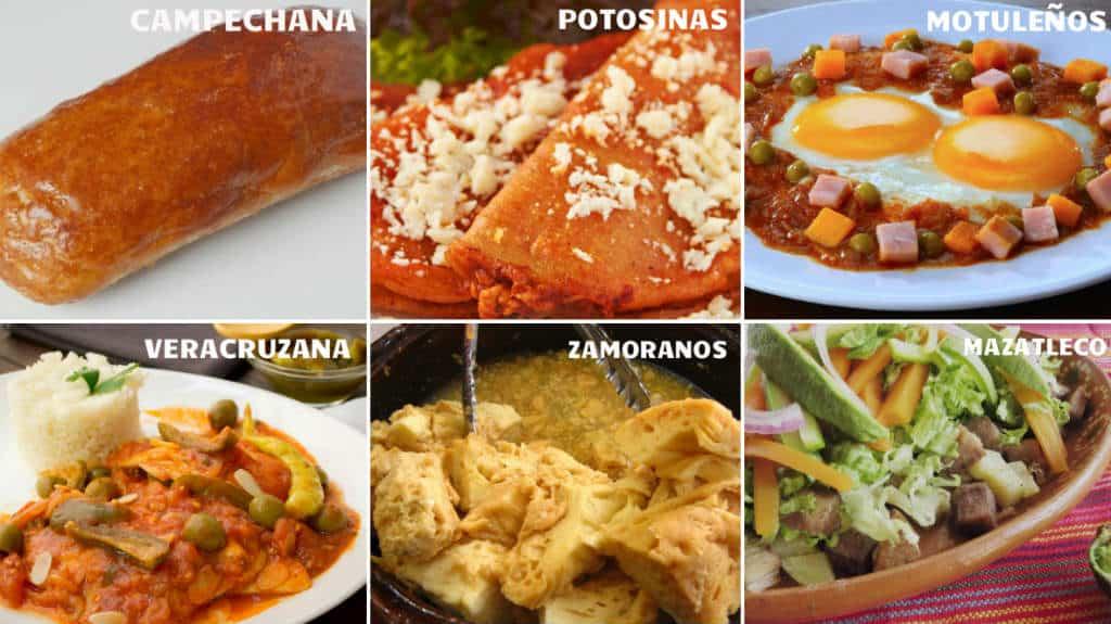 Platillos mexicanos que se llaman como el lugar donde for Comidas de francia nombres