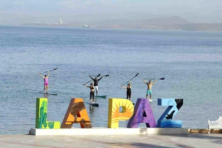 Letras monumentales, La Paz, Baja California Sur