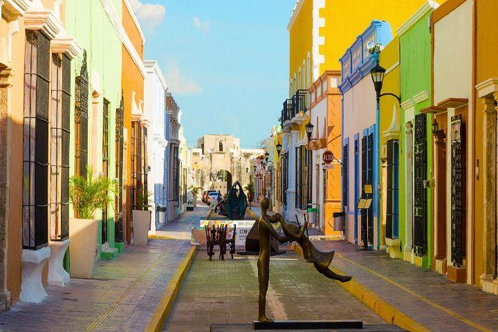 La ciudad de Campeche. Foto: discovertravelnews.com