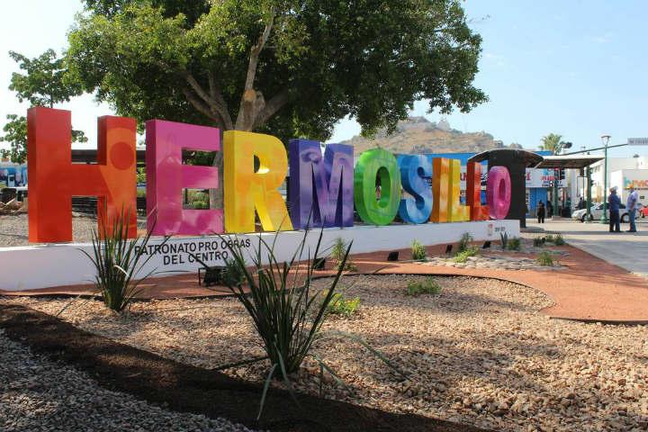Letras monumentales Hermosillo Sonora.Foto.El Sol de Hermosillo.3