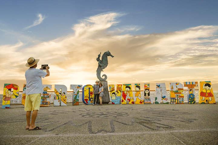 Letras monumentales Puerto Vallarta Jalisco.Foto.Vallarta Lifestyle.4