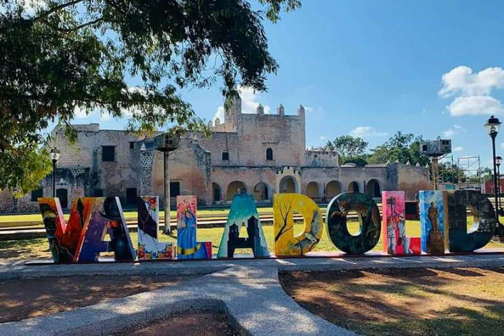 Letras monumentales Valladolid Yucatan.Foto.Valladolid Mágico.5