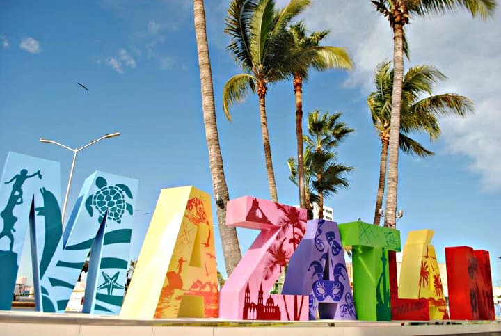Letras monumentales, Mazatlán, Sinaloa