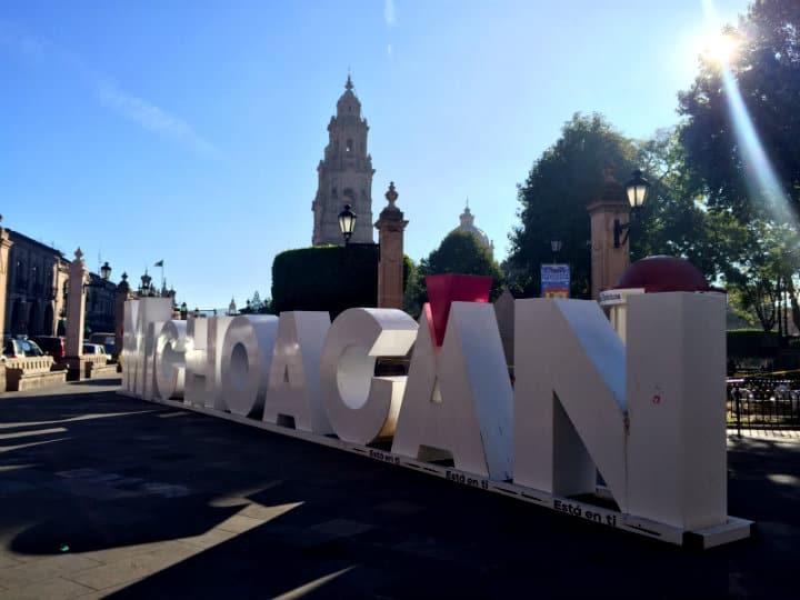Letras monumentales, Morelia, Chihuahua