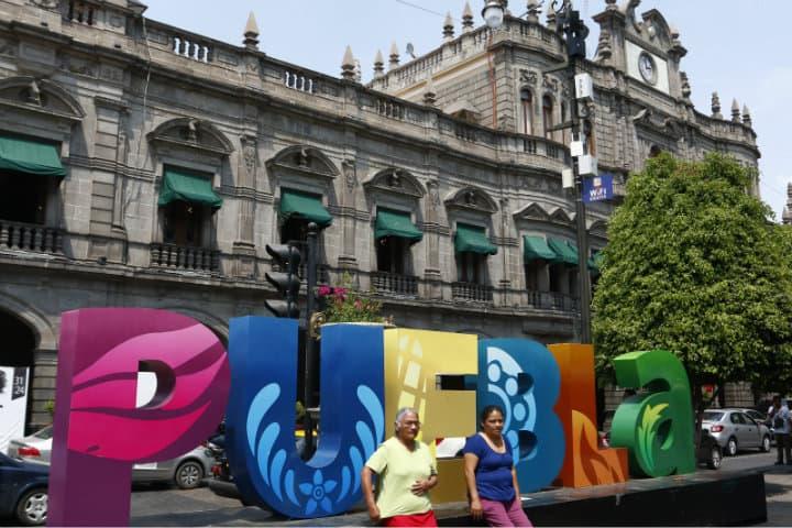 Letras monumentales, Puebla, Puebla