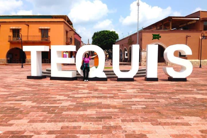 Letras monumentales, Tequisquiapan, Querétaro