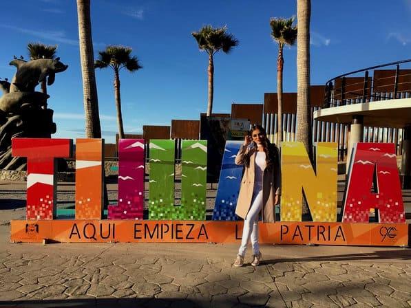 Letras monumentales, Tijuana, Baja California
