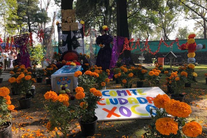 Xoco un barrio mágico en CDMX. Panteón Xoco. Imagen: Facebook