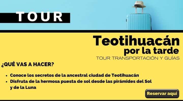 Tour de tarde por Teotihuacán. Arte El Souvenir