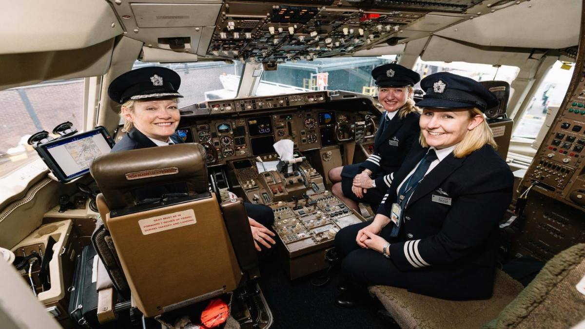 MUJERES-BRITISH-AIRWAYS-BOEING-767