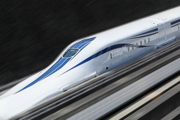 Maglev Japón. Foto. Japonismo