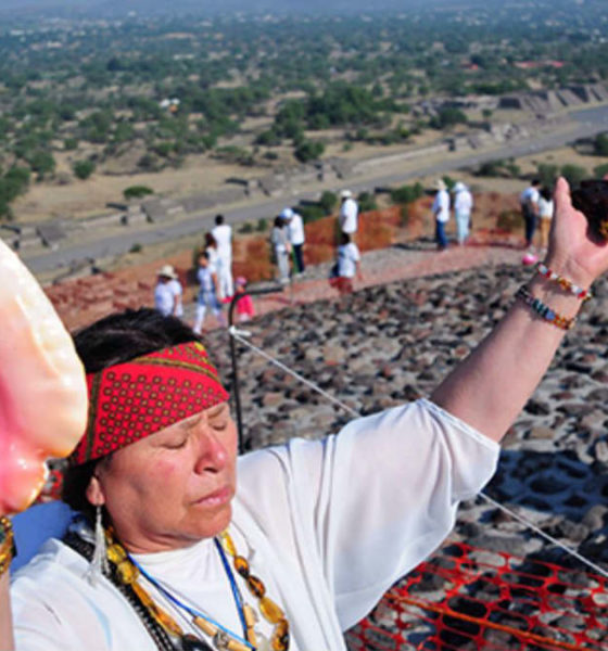Portada.Equinoccio de primavera en Teotihuacán.Foto.El Heraldo de México