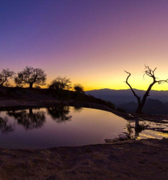 Portada.Hierve el Agua cascada Petrificada.Foto.Omar Laredo