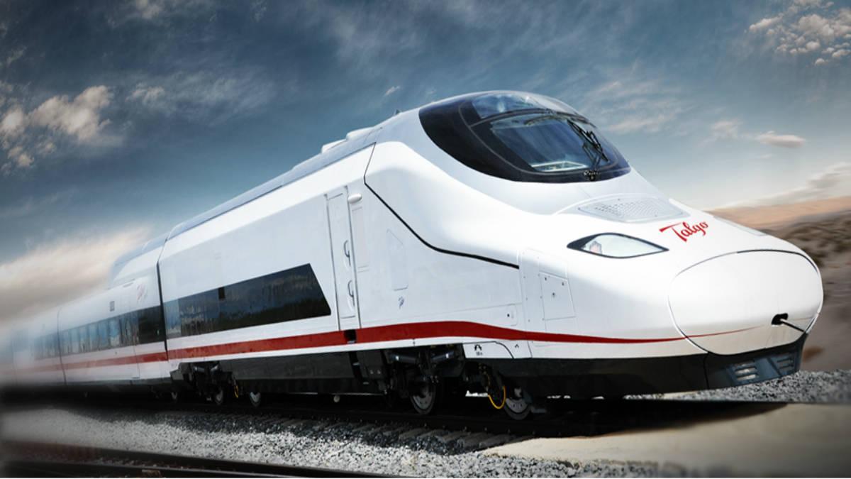Portada.Trenes más rápidos del mundo.Foto.Talgo