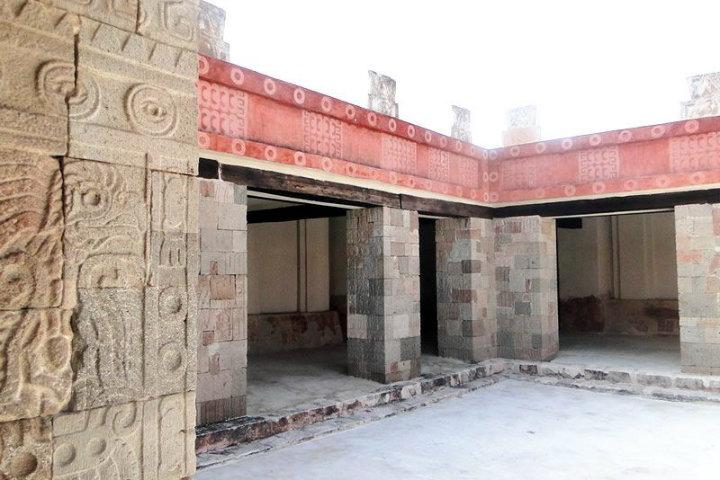Templo de Quetzalpapalotl. Foto. Visitar Teotihuacán.3