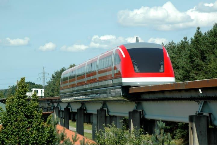 Los trenes más rápidos, Transrapid