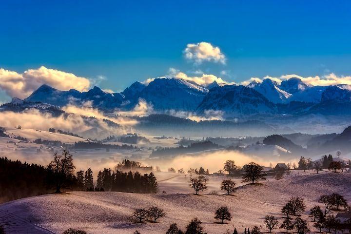 Video de las montañas suizas. Foto David Mark