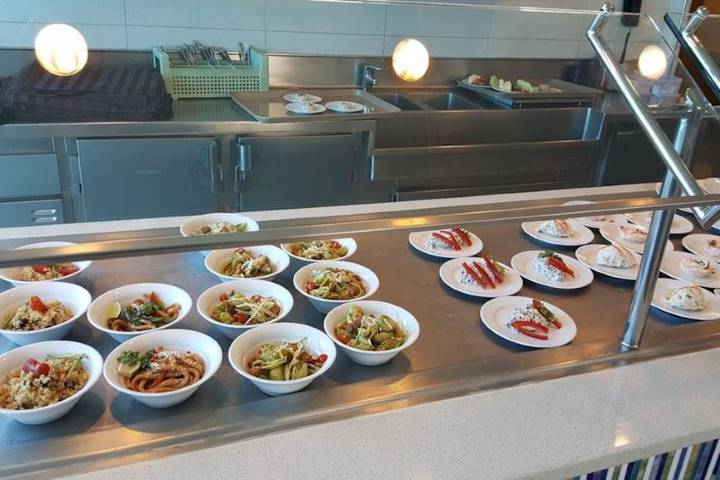Gastronomía del crucero. Foto: The Daily Meal
