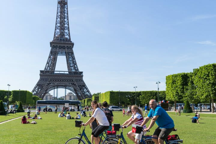 Rutas de bicicleta de Londres a París