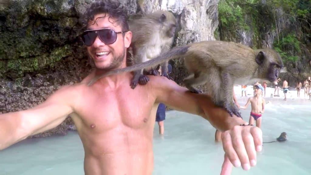 playa monos tailandia